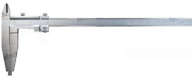 Штангенциркуль SchutЛинейки и штангенциркули<br>Тип: штангенциркуль,<br>Тип штангенциркуля: нониусный,<br>Длина (мм): 1000,<br>Погрешность нивелирования: 0.02<br>