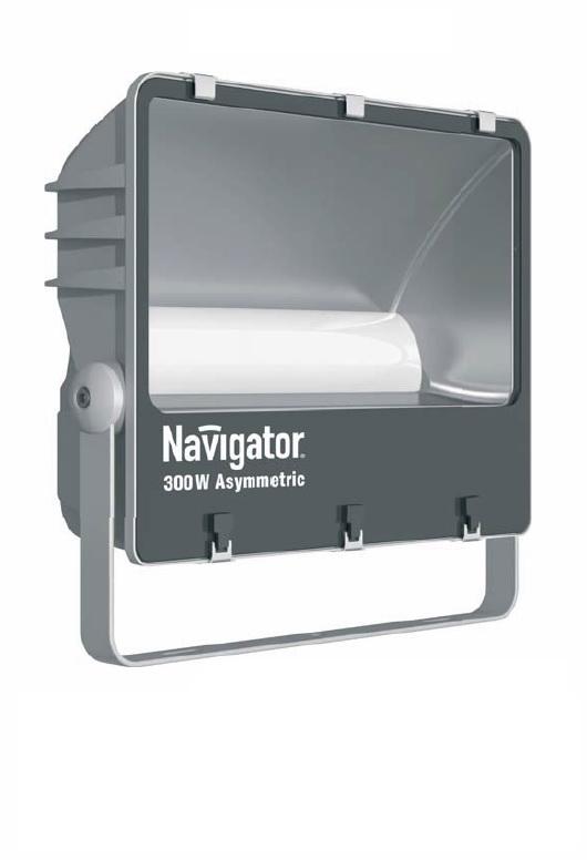 Прожектор NavigatorПрожекторы<br>Мощность: 300,<br>Тип лампы: светодиодная,<br>Патрон: LED,<br>Цвет арматуры: серебристый,<br>Степень защиты от пыли и влаги: IP 65,<br>Тип: стационарный,<br>Назначение прожектора: промышленный,<br>Цветовая температура: 5000<br>