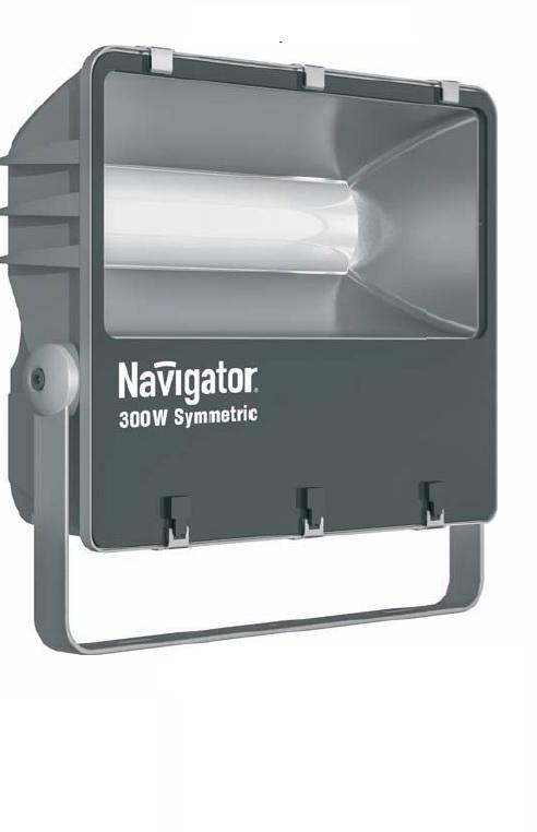 Прожектор NavigatorПрожекторы<br>Мощность: 300, Тип лампы: светодиодная, Патрон: LED, Цвет арматуры: серебристый, Степень защиты от пыли и влаги: IP 65, Тип: стационарный, Назначение прожектора: промышленный, Цветовая температура: 5000<br>