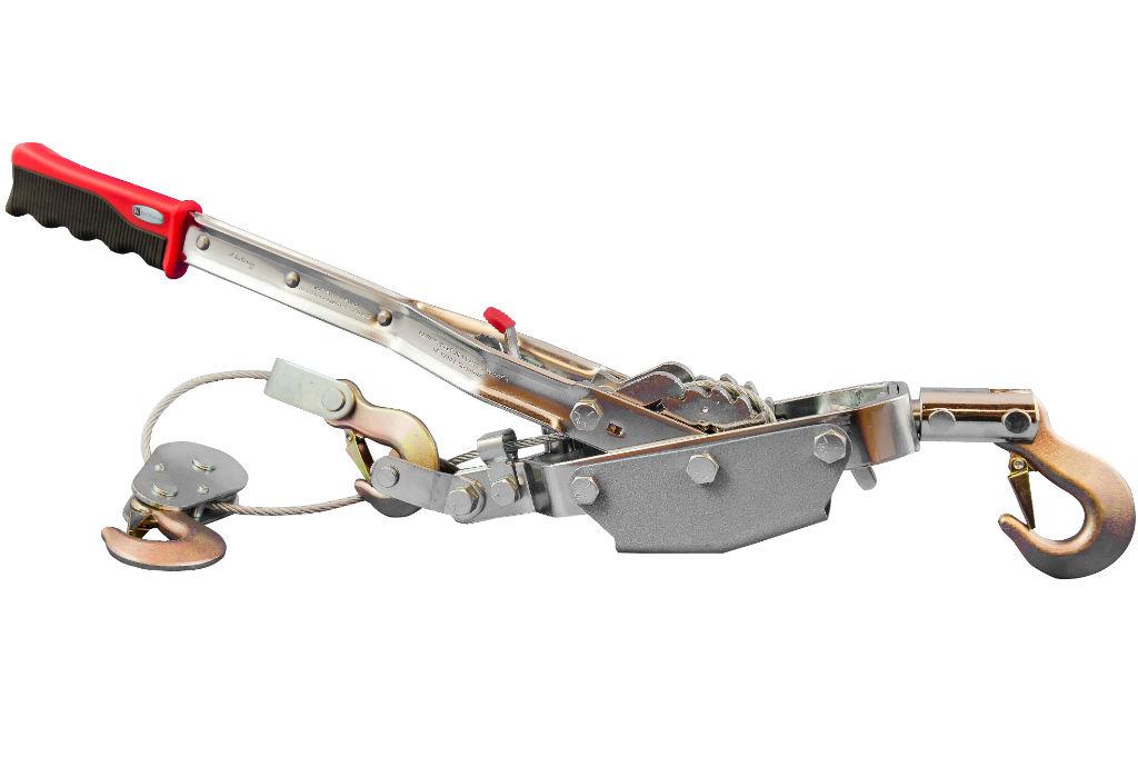 Лебедка SkrabЛебедки (тали)<br>Длина троса: 3, Максимальная нагрузка: 4000, Тип: механическая, Тип устройства: лебедка, Вес нетто: 7<br>