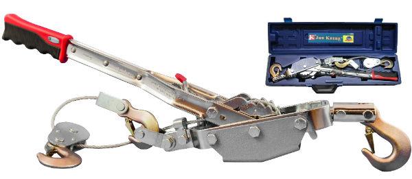 Лебедка SkrabЛебедки (тали)<br>Длина троса: 3, Максимальная нагрузка: 4000, Тип: механическая, Тип устройства: лебедка, Вес нетто: 7.5<br>