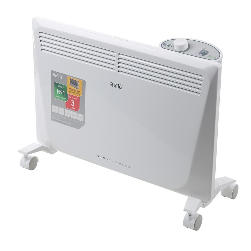 Конвектор BalluКонвекторы<br>Мощность: 1500,<br>Напряжение: 220,<br>Потребляемый ток: 6.5,<br>Помещение: 20,<br>Тип нагревательного элемента: Х-образный,<br>Тип управления: механическое,<br>Материал ТЭНа: алюминий,<br>Степень защиты от пыли и влаги: IP 24<br>