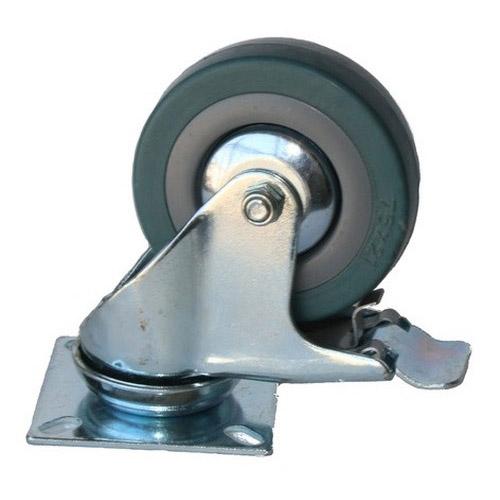Колесо Swd proffПринадлежности для складского оборудования<br>Тип: колесо,<br>Материал: резина,<br>Диаметр колес, мм: 75,<br>Способ крепления: платформенный,<br>Поворот: есть<br>