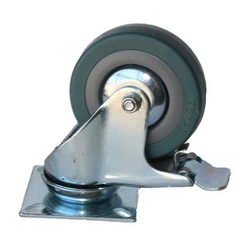 Колесо Swd proffПринадлежности для складского оборудования<br>Тип: колесо,<br>Материал: резина,<br>Диаметр колес, мм: 100,<br>Способ крепления: платформенный,<br>Поворот: есть<br>