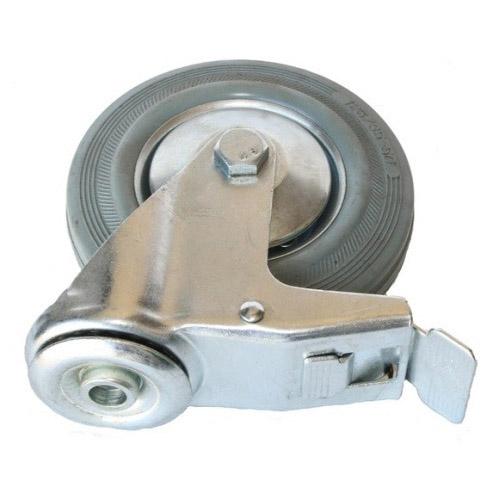 Колесо Swd proffПринадлежности для складского оборудования<br>Тип: колесо,<br>Материал: резина,<br>Диаметр колес, мм: 75,<br>Способ крепления: под болт,<br>Поворот: есть<br>