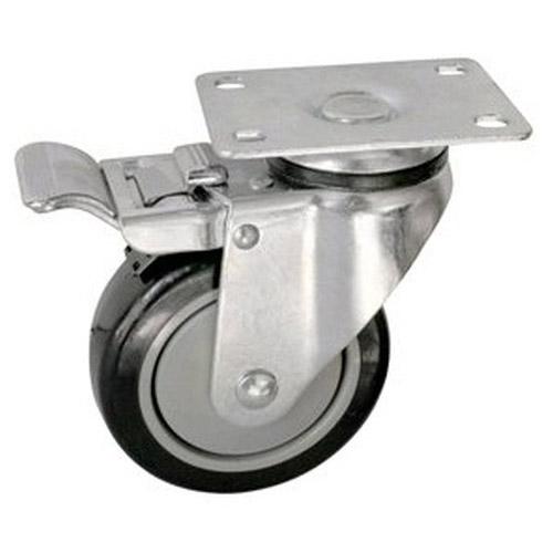 Колесо Swd proffПринадлежности для складского оборудования<br>Тип: колесо,<br>Материал: полиуретан,<br>Диаметр колес, мм: 75,<br>Способ крепления: платформенный,<br>Поворот: есть,<br>С тормозом: есть<br>