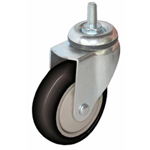 Колесо Swd proffПринадлежности для складского оборудования<br>Тип: колесо,<br>Материал: полиуретан,<br>Диаметр колес, мм: 100,<br>Способ крепления: болтовой,<br>Поворот: есть<br>