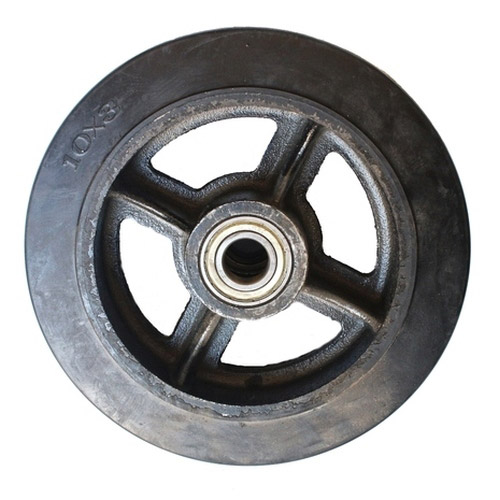 Колесо Swd proffПринадлежности для складского оборудования<br>Тип: колесо,<br>Материал: чугун,<br>Тип колеса: большегрузное,<br>Диаметр колес, мм: 125<br>