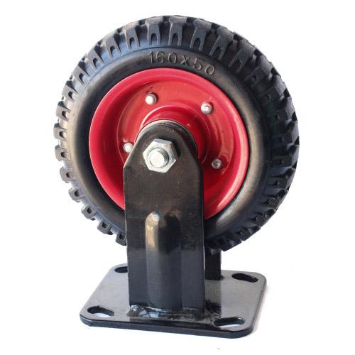 Колесо Swd proffПринадлежности для складского оборудования<br>Тип: колесо, Материал: резина, Тип колеса: большегрузное, Диаметр колес, мм: 200, Способ крепления: платформенный<br>