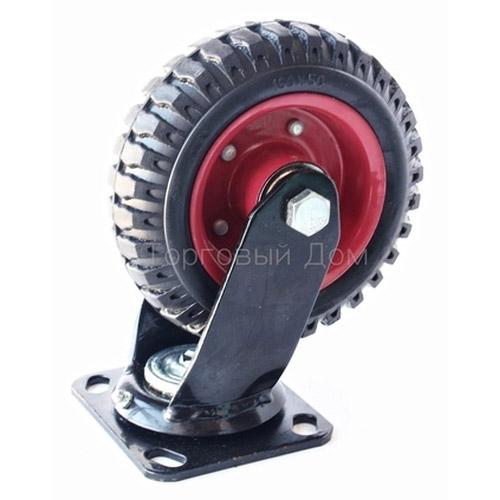 Колесо Swd proffПринадлежности для складского оборудования<br>Тип: колесо,<br>Материал: резина,<br>Тип колеса: большегрузное,<br>Диаметр колес, мм: 200,<br>Способ крепления: платформенный<br>