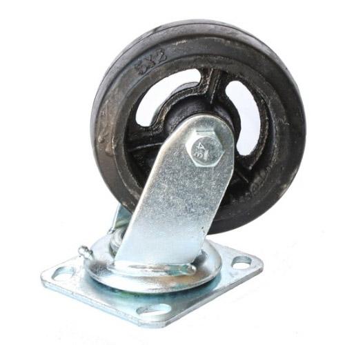 Колесо Swd proffПринадлежности для складского оборудования<br>Тип: колесо, Материал: чугун, Тип колеса: большегрузное, Диаметр колес, мм: 125, Способ крепления: платформенный, Поворот: есть<br>
