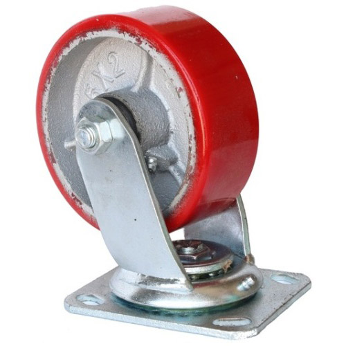 Колесо Swd proffПринадлежности для складского оборудования<br>Тип: колесо, Материал: чугун, Тип колеса: большегрузное, Диаметр колес, мм: 75, Способ крепления: платформенный, Поворот: есть<br>