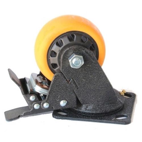 Колесо Swd proffПринадлежности для складского оборудования<br>Тип: колесо,<br>Материал: полиуретан,<br>Тип колеса: большегрузное,<br>Диаметр колес, мм: 150,<br>Способ крепления: платформенный,<br>Поворот: есть<br>
