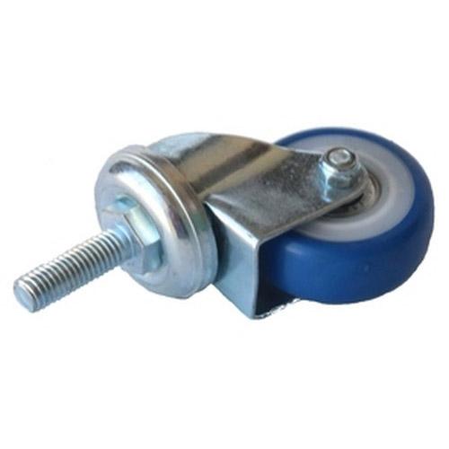 Колесо Swd proffПринадлежности для складского оборудования<br>Тип: колесо,<br>Материал: ПВХ,<br>Диаметр колес, мм: 50,<br>Способ крепления: болтовой,<br>Поворот: есть,<br>С тормозом: есть<br>