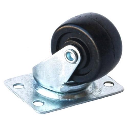 Колесо Swd proffПринадлежности для складского оборудования<br>Тип: колесо,<br>Материал: резина,<br>Диаметр колес, мм: 50,<br>Способ крепления: платформенный,<br>Поворот: есть<br>