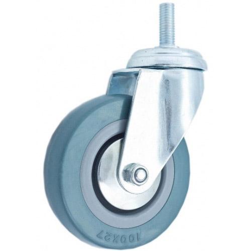 Колесо Swd proffПринадлежности для складского оборудования<br>Тип: колесо,<br>Материал: резина,<br>Тип колеса: промышленное,<br>Диаметр колес, мм: 160,<br>Способ крепления: болтовой,<br>Поворот: есть<br>
