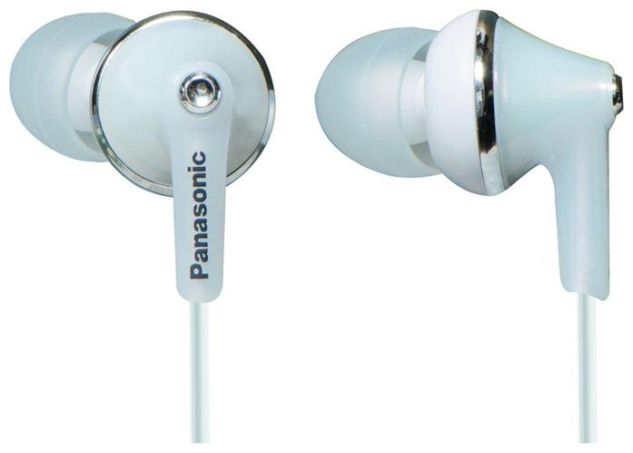 Наушники-вкладыши PanasonicНаушники<br>Вид наушников: вставные,<br>Сопротивление: 16,<br>Чувствительность: 98,<br>Диаметр мембраны: 10,<br>Разъём наушников: mini jack 3.5mm,<br>Подключение: с проводом,<br>Длина кабеля: 1.2<br>