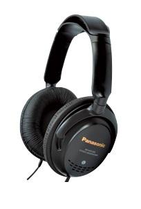 Наушники полноразмерные PanasonicНаушники<br>Вид наушников: мониторные,<br>Сопротивление: 22,<br>Чувствительность: 102,<br>Разъём наушников: mini jack 3.5mm,<br>Подключение: с проводом,<br>Длина кабеля: 5<br>