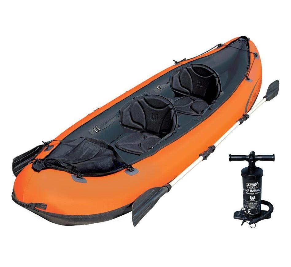 что лучше для рыбалки лодка или байдарка