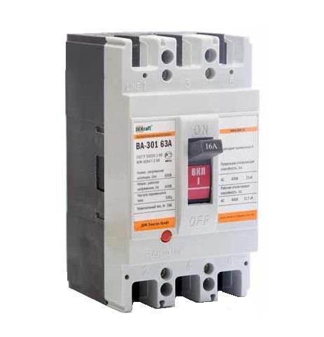 Выключатель DekraftАвтоматические выключатели<br>Номинальный ток: 25,<br>Тип выключателя: автомат,<br>Количество полюсов: 3,<br>Номинальная отключающая способность: 25000,<br>Степень защиты от пыли и влаги: IP 20,<br>Количество модулей: 3<br>