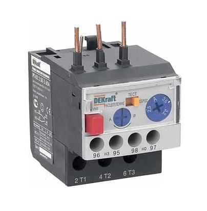 Реле DekraftАвтоматические выключатели<br>Номинальный ток: 6.3,<br>Тип выключателя: реле,<br>Количество полюсов: 1,<br>Степень защиты от пыли и влаги: IP 20<br>