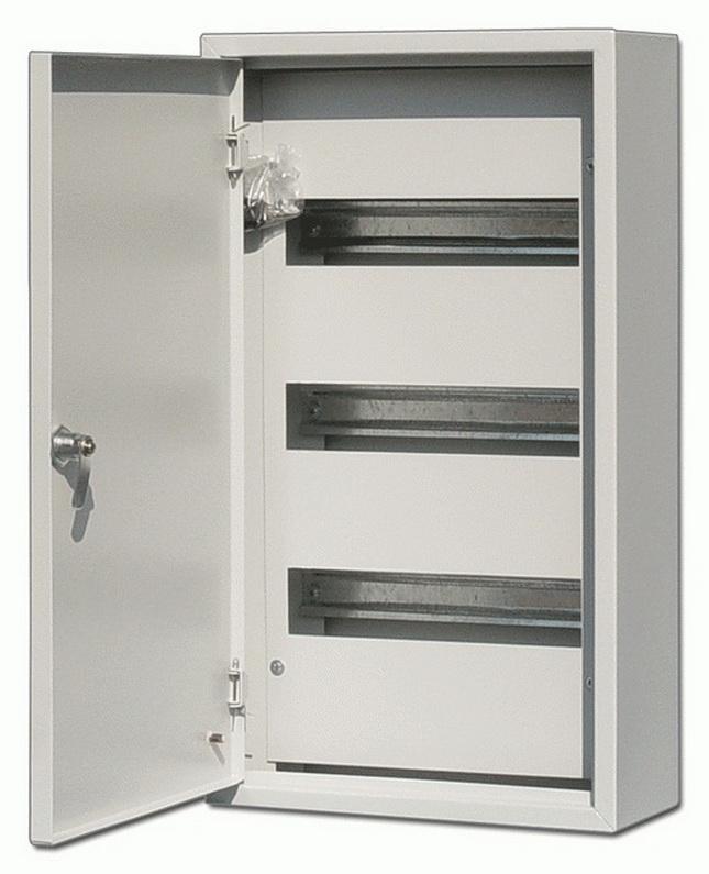Щит DekraftЩиты электрические, боксы<br>Тип: щит,<br>Тип установки: навесной,<br>Материал: металл,<br>Степень защиты от пыли и влаги: IP 31,<br>Использование: в помещении,<br>Высота: 520,<br>Ширина: 350,<br>Глубина: 120,<br>Количество модулей: 45<br>