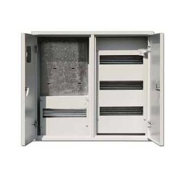 Щит DekraftЩиты электрические, боксы<br>Тип: щит,<br>Тип установки: навесной,<br>Материал: металл,<br>Степень защиты от пыли и влаги: IP 31,<br>Использование: в помещении,<br>Высота: 520,<br>Ширина: 585,<br>Глубина: 160,<br>Количество модулей: 48<br>