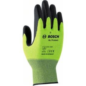 Перчатки BoschПерчатки и рукавицы<br>Тип: перчатки,<br>Тип перчаток: нитриловые/мбс,<br>Пол: мужской,<br>Размер: 8,<br>Цвет: зеленый<br>