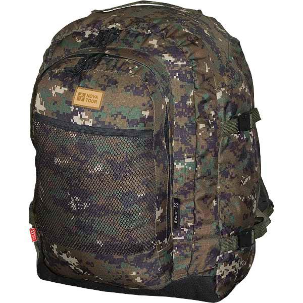 Рюкзак Nova tourРюкзаки<br>Назначение рюкзака: для охоты и рыбалки,<br>Тип конструкции: станковый,<br>Тип: рюкзак,<br>Объем: 55,<br>Число лямок: 2,<br>Высота: 500,<br>Ширина: 330,<br>Толщина: 370,<br>Материал: полиуретан,<br>Цвет: зеленый,<br>Фронтальный карман: есть,<br>Боковая стяжка: есть,<br>Верхний карман: есть,<br>Грудная стяжка: есть,<br>Поясной ремень: есть<br>