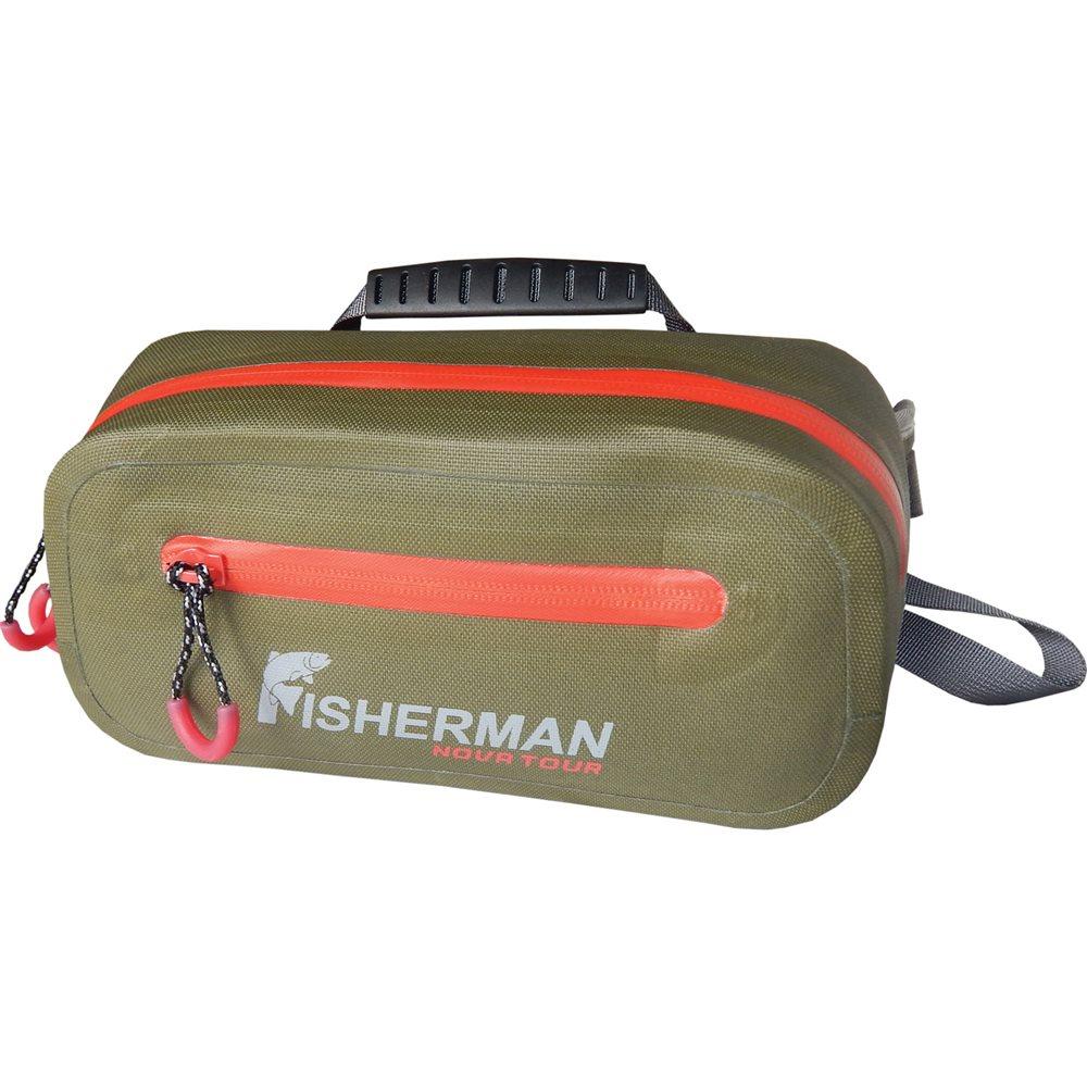 Сумка для рыбалки Fisherman nova tourСумки<br>Тип изделия: сумка для рыбалки,<br>Форм-фактор: сумка,<br>Размеры: 350х130х260,<br>Длина (мм): 350,<br>Ширина: 130,<br>Высота: 260,<br>Материал: полиэстер<br>