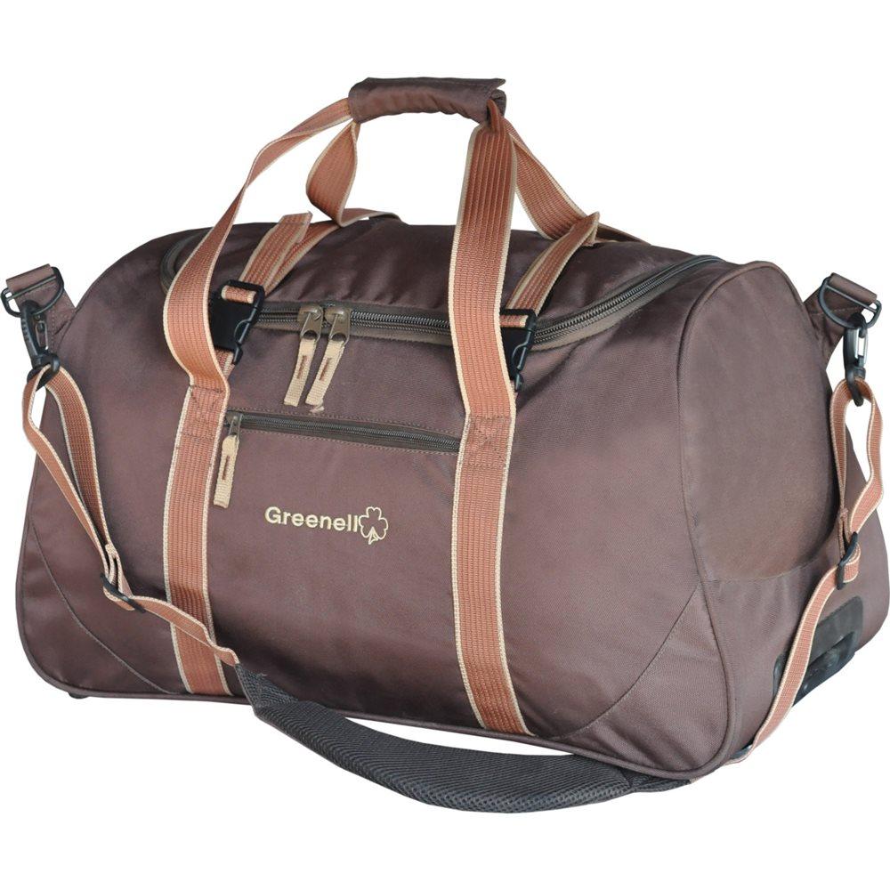 Сумка GreenellСумки<br>Объем: 55,<br>Форм-фактор: сумка,<br>Дорожная сумка: есть,<br>Размеры: 300х310х570,<br>Длина (мм): 300,<br>Ширина: 310,<br>Высота: 570,<br>Материал: полиэстер<br>
