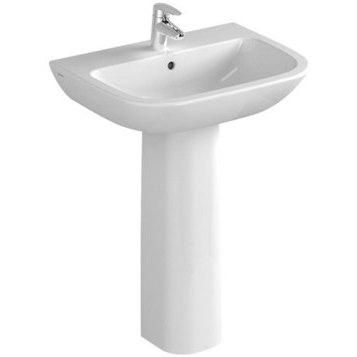Раковина для ванной VitraРаковины (умывальники)<br>Тип: раковина,<br>Назначение умывальника(раковины): для ванной,<br>Ширина: 600,<br>Глубина: 460,<br>Форма раковины: прямоугольная,<br>Цвет: белый,<br>Отверстие под смеситель: нет,<br>Материал: санфаянс,<br>Тип установки раковины: подвесной<br>