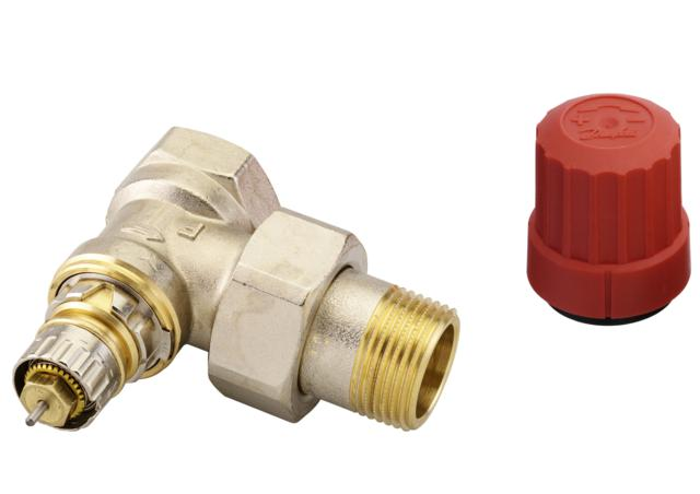 Клапан DanfossАрматура для труб<br>Материал фитинга: латунь,<br>Тип трубного соединения: резьба,<br>Назначение арматуры: клапан,<br>Присоединительный размер: 1/2  <br>