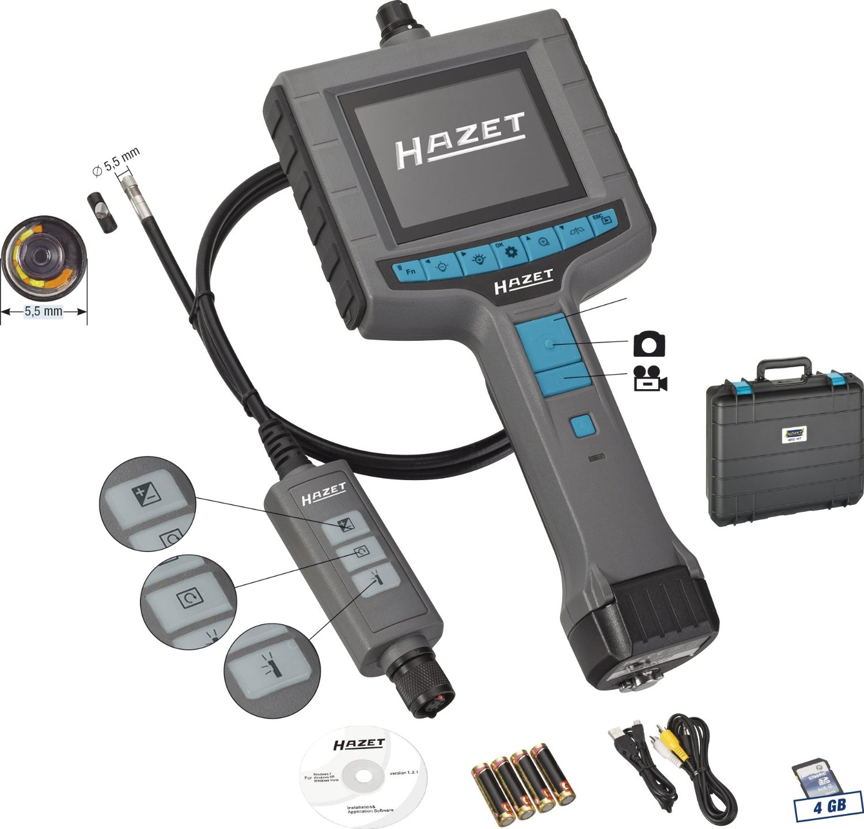 Видеоэндоскоп Hazet