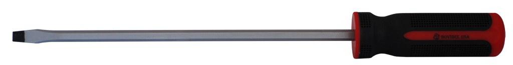 Отвертка BovidixОтвертки<br>Тип наконечника: SL (шлиц),<br>Тип отвертки: стандартная,<br>Длина (мм): 150,<br>Тип рукоятки: прямая<br>