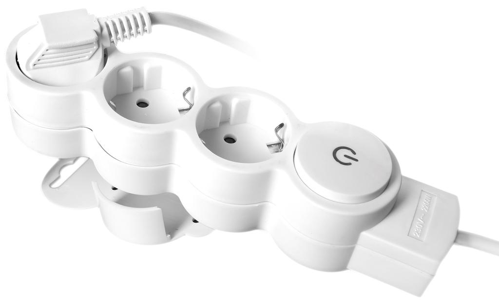Удлинитель Rev ritterУдлинители и сетевые фильтры<br>Количество гнезд: 3,<br>Заземление: есть,<br>Тип удлинителя: удлинитель,<br>Марка кабеля: ПВС,<br>Длина (м): 3,<br>Выключатель: есть,<br>Цвет: серый,<br>Шторки: есть,<br>Наличие катушки: нет,<br>USB порт: нет,<br>Автоматическое сматывание кабеля: нет,<br>Степень защиты от пыли и влаги: IP 20<br>