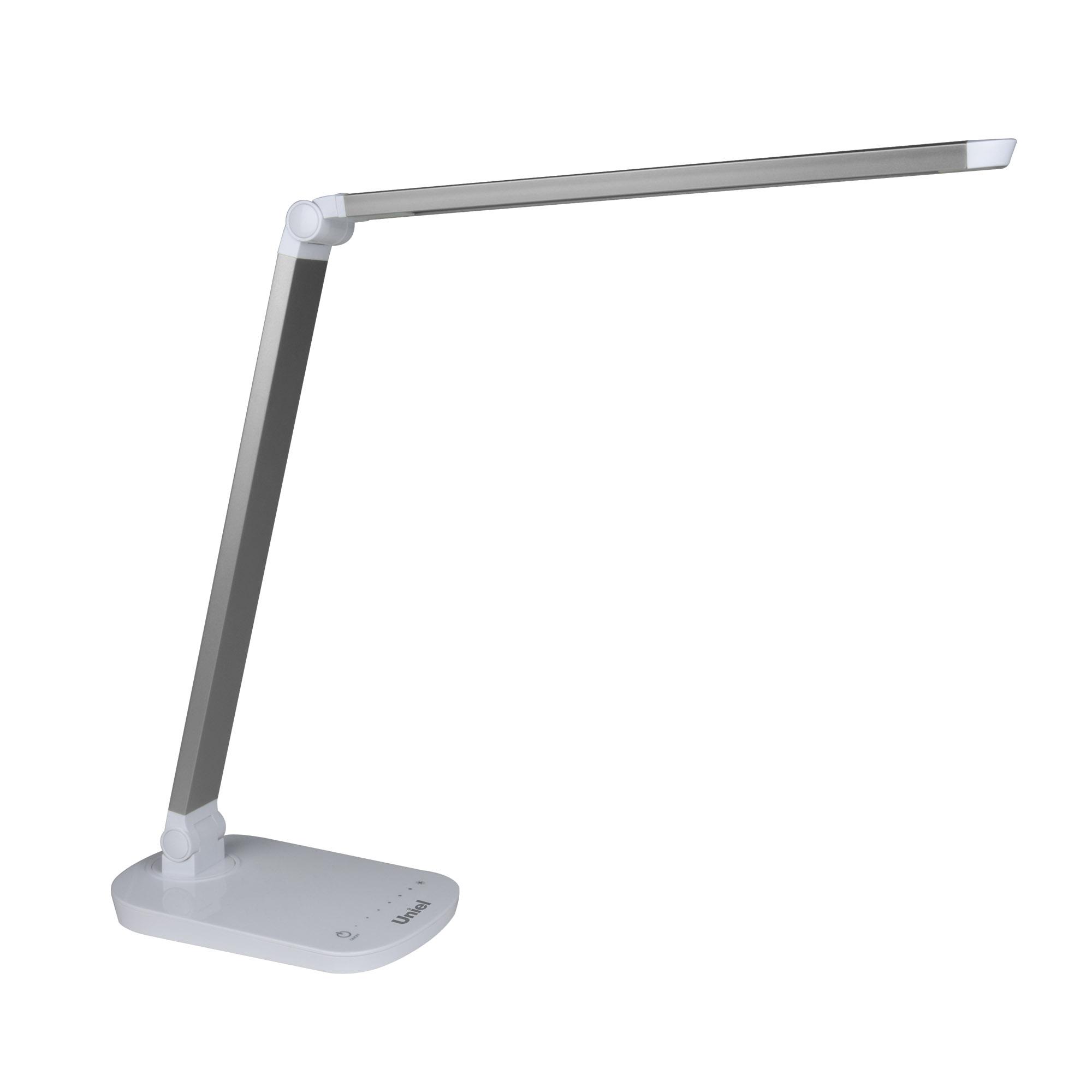 Лампа настольная UnielЛампы настольные<br>Тип настольной лампы: ученическая/офисная, Назначение светильника: офисный, Стиль светильника: модерн, Тип лампы: светодиодная<br>