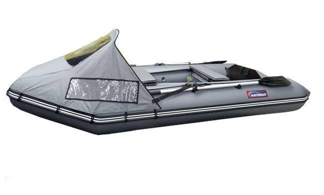 Лодка HunterboatЛодки надувные<br>Тип: лодка,<br>Тип лодки: моторно-гребная,<br>Тип дна: надувное,<br>Материал: ПВХ,<br>Плотность ткани: 850,<br>Максимальная нагрузка: 330,<br>Количество посадочных мест: 3<br>