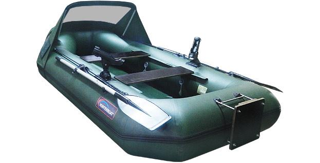 надувная лодка hunterboat хантер 300 лт зеленый