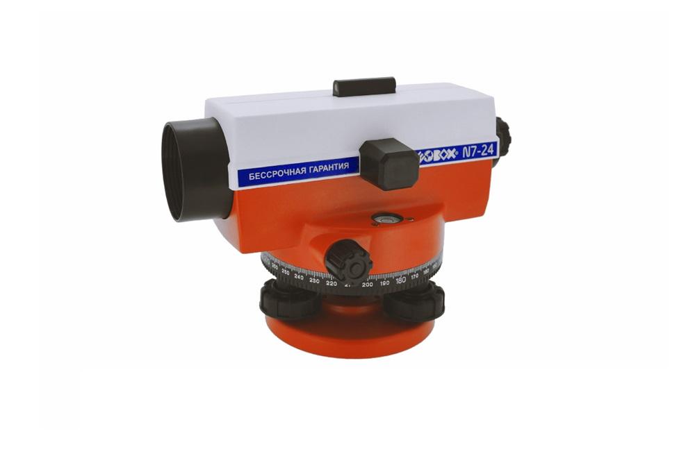 Нивелир оптический Geobox N7-24 trio