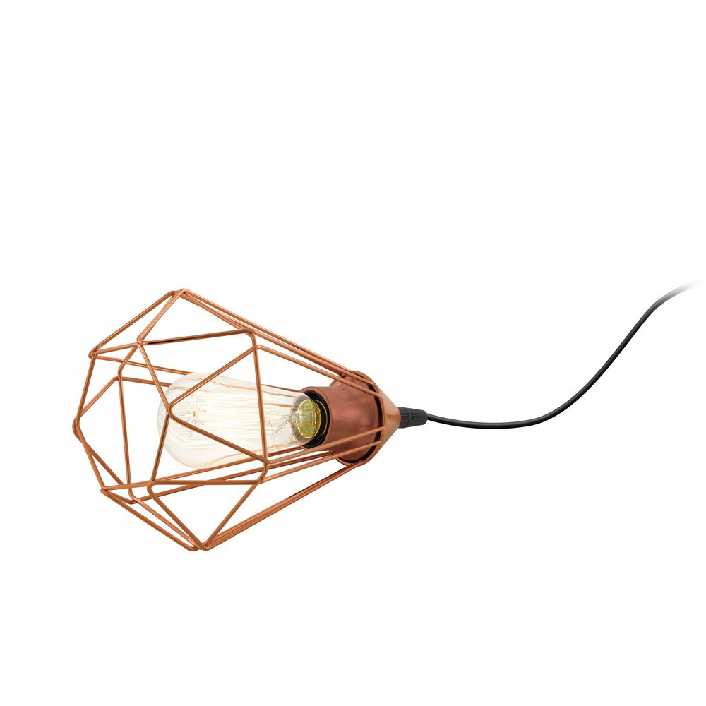 Лампа настольная EgloЛампы настольные<br>Тип настольной лампы: декоративная,<br>Назначение светильника: для комнаты,<br>Стиль светильника: ковка,<br>Материал светильника: металл,<br>Диаметр: 175,<br>Высота: 265,<br>Количество ламп: 1,<br>Тип лампы: накаливания,<br>Мощность: 60,<br>Патрон: Е27,<br>Цвет арматуры: черный,<br>Вес нетто: 0.364<br>