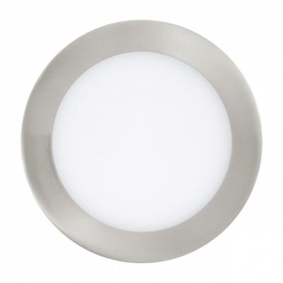 Светильник встраиваемый EgloСветильники встраиваемые<br>Стиль светильника: модерн,<br>Диаметр: 170,<br>Форма светильника: круг,<br>Материал светильника: металл,<br>Количество ламп: 1,<br>Тип лампы: светодиодная,<br>Мощность: 10.95,<br>Патрон: LED,<br>Цвет арматуры: никель,<br>Вес нетто: 0.513<br>