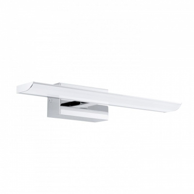 Светильник для ванной комнаты EgloСветильники для ванных комнат<br>Стиль светильника: модерн,<br>Назначение светильника: для ванной комнаты,<br>Материал светильника: пластик, сталь,<br>Ширина: 70,<br>Длина (мм): 405,<br>Мощность: 3.2,<br>Количество ламп: 2,<br>Тип лампы: светодиодная,<br>Патрон: LED,<br>Цвет арматуры: хром<br>