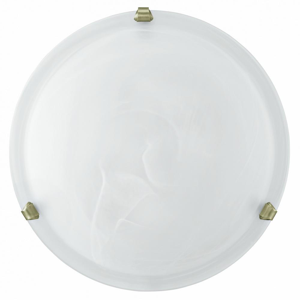 Светильник настенно-потолочный EgloСветильники настенно-потолочные<br>Мощность: 60,<br>Количество ламп: 2,<br>Назначение светильника: для комнаты,<br>Стиль светильника: модерн,<br>Материал светильника: металл, стекло,<br>Тип лампы: накаливания,<br>Диаметр: 400,<br>Патрон: Е27,<br>Цвет арматуры: бронза,<br>Вес нетто: 2<br>