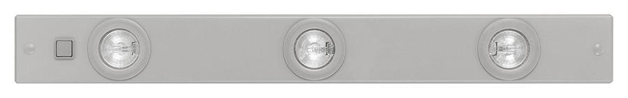 Светильник EgloСветильники настенно-потолочные<br>Мощность: 20,<br>Количество ламп: 3,<br>Назначение светильника: для кухни,<br>Стиль светильника: модерн,<br>Материал светильника: металл,<br>Тип лампы: галогенная,<br>Длина (мм): 600,<br>Ширина: 70,<br>Высота: 25,<br>Патрон: G4,<br>Цвет арматуры: серебро,<br>Вес нетто: 0.797<br>