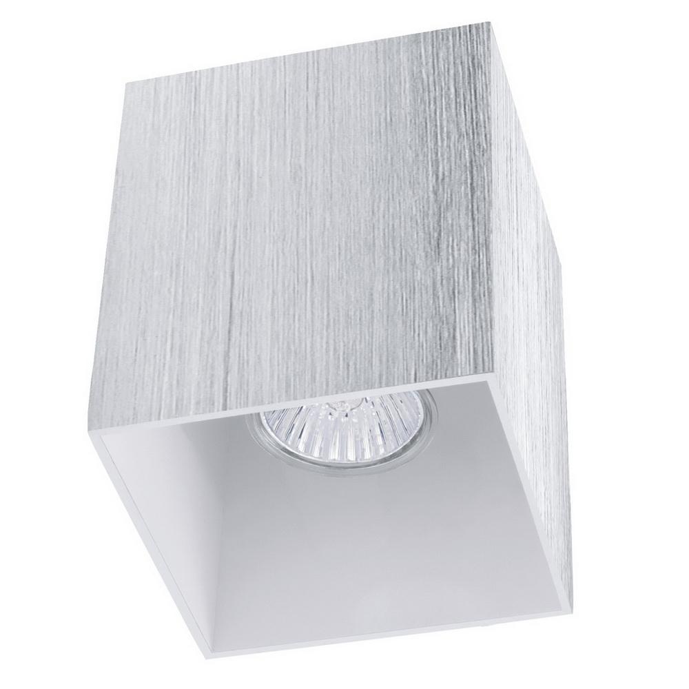 Светильник настенно-потолочный EgloСветильники настенно-потолочные<br>Мощность: 35,<br>Количество ламп: 1,<br>Назначение светильника: для комнаты,<br>Стиль светильника: модерн,<br>Материал светильника: металл, стекло,<br>Тип лампы: галогенная,<br>Длина (мм): 100,<br>Ширина: 100,<br>Высота: 120,<br>Патрон: GU10,<br>Цвет арматуры: белый,<br>Вес нетто: 0.571<br>