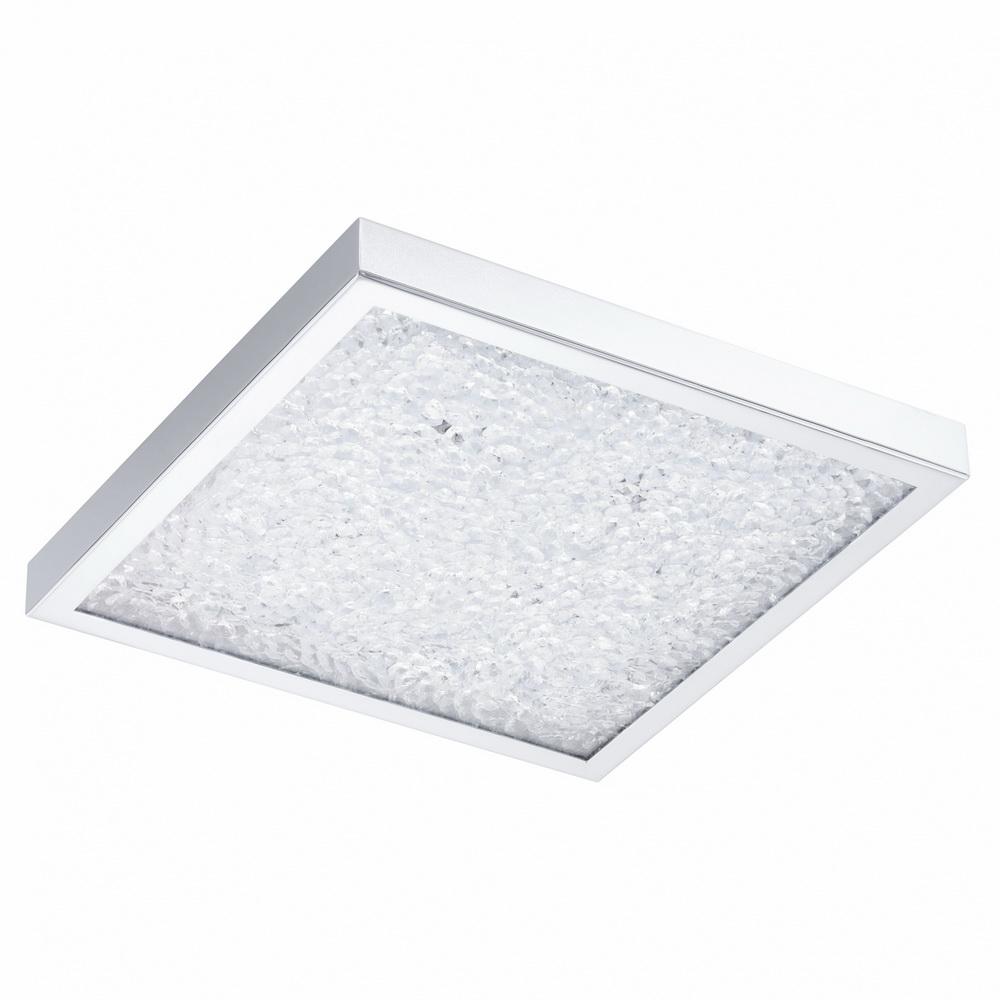 Светильник настенно-потолочный EgloСветильники настенно-потолочные<br>Мощность: 19, Назначение светильника: для комнаты, Стиль светильника: модерн, Материал светильника: металл, стекло, Тип лампы: светодиодная, Длина (мм): 365, Ширина: 365, Высота: 75, Патрон: LED, Цвет арматуры: хром, Степень защиты от пыли и влаги: IP 20, Вес нетто: 4.984<br>