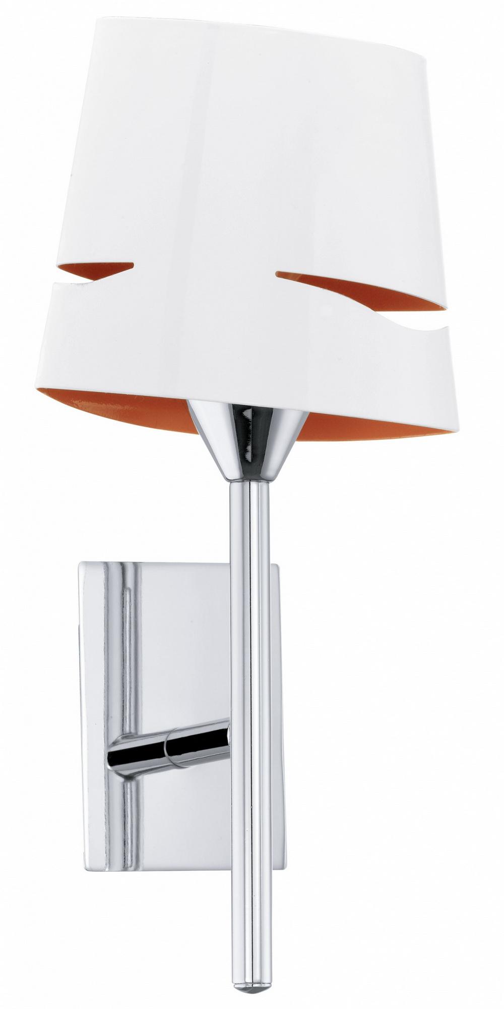 Светильник настенно-потолочный EgloНастенные светильники и бра<br>Назначение светильника: для комнаты, Стиль светильника: модерн, Материал светильника: металл, Тип лампы: накаливания, Количество ламп: 1, Мощность: 40, Патрон: Е14, Цвет арматуры: хром, Длина (мм): 150, Ширина: 305, Вес нетто: 0.543<br>