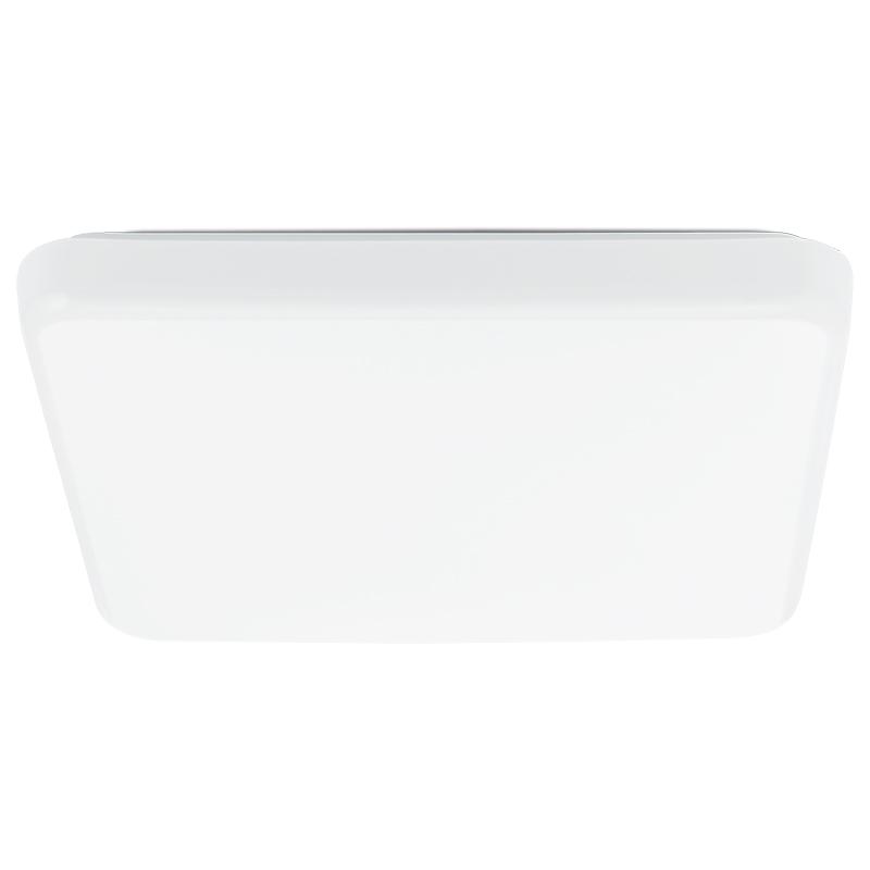 Светильник настенно-потолочный EgloСветильники настенно-потолочные<br>Мощность: 18,<br>Назначение светильника: для комнаты,<br>Стиль светильника: модерн,<br>Материал светильника: металл, пластик,<br>Тип лампы: светодиодная,<br>Длина (мм): 375,<br>Ширина: 375,<br>Патрон: LED,<br>Цвет арматуры: белый,<br>Вес нетто: 1.124<br>
