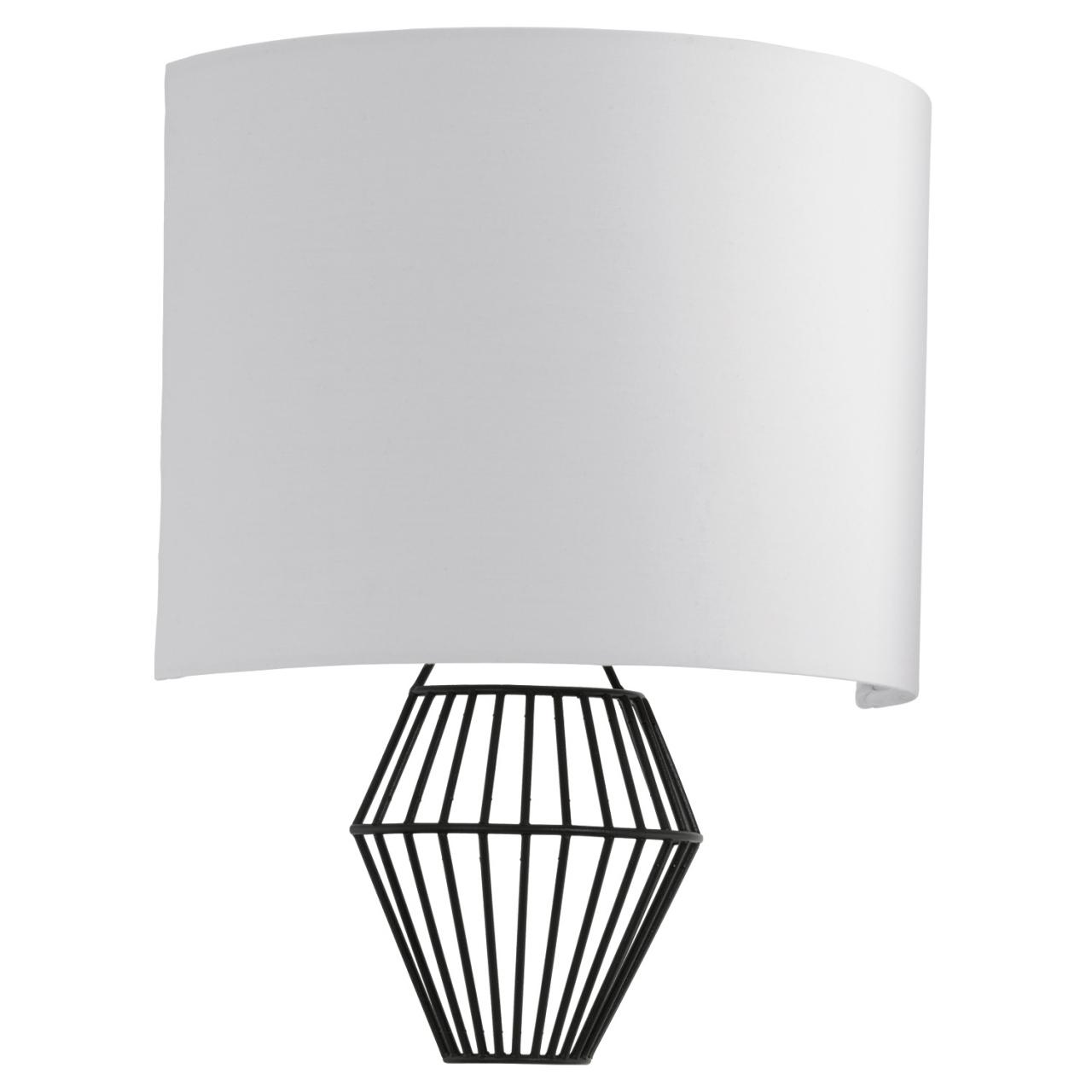Светильник настенно-потолочный EgloНастенные светильники и бра<br>Назначение светильника: для комнаты,<br>Стиль светильника: модерн,<br>Материал светильника: металл, ткань,<br>Тип лампы: светодиодная,<br>Количество ламп: 2,<br>Мощность: 2.5,<br>Патрон: LED,<br>Цвет арматуры: черный,<br>Длина (мм): 250,<br>Ширина: 310,<br>Вес нетто: 0.627<br>